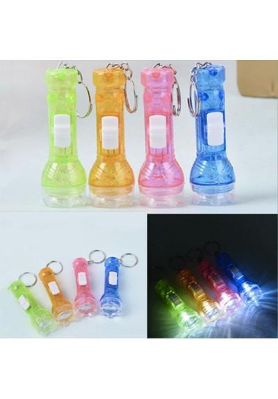 Porte-Clés Torche LED en Plastique