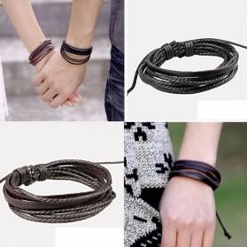 Bracelet mixte à lanières