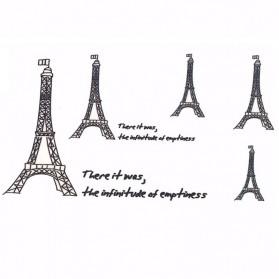 Tatouage Ephémère Temporaire Tour Eiffel