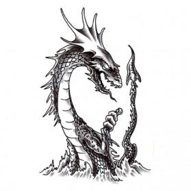 Tatouage Temporaire Ephémère Monstre du Loch Ness