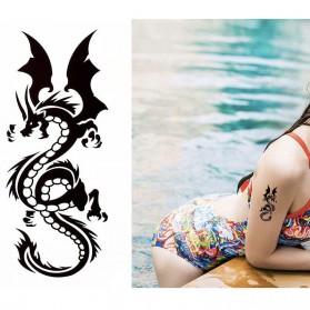 Tatouage Ephémère Temporaire Dragon Japonais