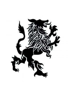 Tatouage Temporaire Ephémère Lion des Flandres