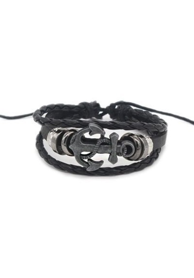 Bracelet Marin Ancre Homme