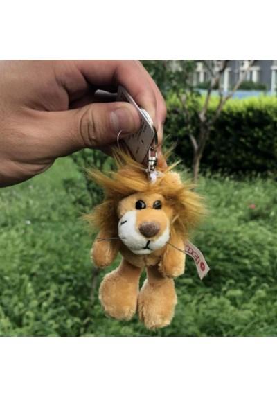 Porte-Clés Peluche Lion 10 cm