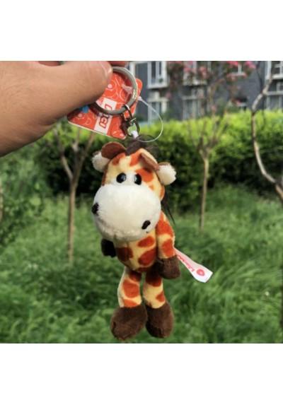 Porte-Clés Peluche Girafe 13 cm