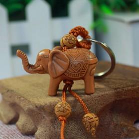 Porte-Clés Elephant Chance style Bois
