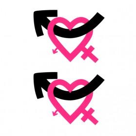Tatouage Ephémère Temporaire Symbole Homme Femme