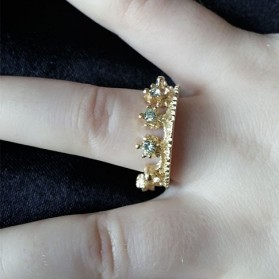 Bague couronne (petite taille)