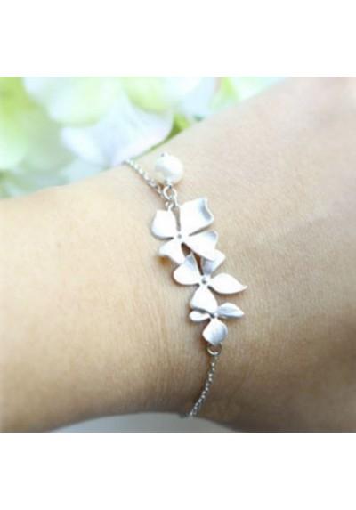 Bracelet Orchidées
