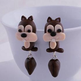 Boucles d'oreilles Ecureuils