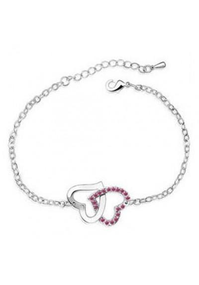 Bracelet Coeur Entrelacé