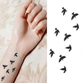 Tatouages éphémères Petits Oiseaux en vol